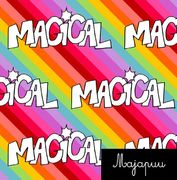 Majapuu Original Production: Digital jersey Magical Rainbow